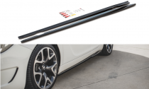 Maxton Design Prahové lišty Opel Insignia OPC Facelift - texturovaný plast