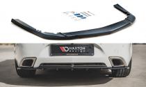 Maxton Design Spoiler zadního nárazníku s žebrováním Opel Insignia OPC Facelift - texturovaný plast