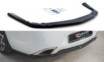 Maxton Design Spoiler zadního nárazníku Opel Insignia OPC Facelift - texturovaný plast