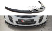 Maxton Design Spoiler předního nárazníku Opel Insignia OPC Facelift V.2 - texturovaný plast