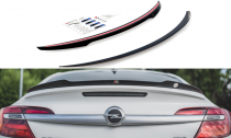 Maxton Design Lišta víka kufru Opel Insignia OPC Facelift - texturovaný plast