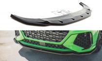 Maxton Design Spoiler předního nárazníku Audi RSQ3 V.2 - texturovaný plast