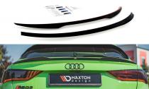 Maxton Design Nástavec střešního spoileru Audi RSQ3 - texturovaný plast