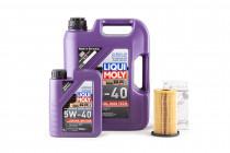 Základní servisní set pro motor 2,0 TFSI EA113 Olej LIQUI MOLY Synthoil High Tech 5w40 VW 502 00 a Originální olejový filtr