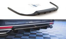 Maxton Design Spoiler zadního nárazníku s žebrováním VW Passat B8 - texturovaný plast