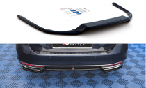 Maxton Design Spoiler zadního nárazníku VW Passat B8 - texturovaný plast