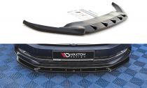 Maxton Design Spoiler předního nárazníku VW Passat B8 V.2 - texturovaný plast