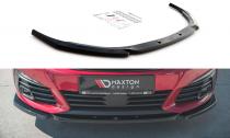 Maxton Design Spoiler předního nárazníku Peugeot 308 GT Mk2 Facelift V.2 - texturovaný plast