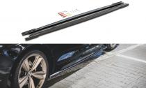 Maxton Design Prahové lišty Audi RS5 Sportback (F5) Facelift - texturovaný plast