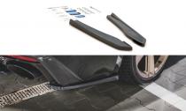 Maxton Design Boční lišty zadního nárazníku Audi RS5 (F5) Facelift - texturovaný plast
