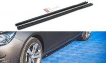 Maxton Design Prahové lišty Peugeot 308 Mk2 Facelift - texturovaný plast