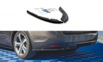 Maxton Design Boční lišty zadního nárazníku Peugeot 308 SW Mk2 Facelift - texturovaný plast