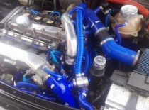 Relokace BOVu SEAT Ibiza Cupra mk3 FMRLKIB Forge Motorsport - Modrá