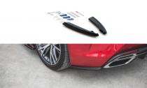 Maxton Design Boční lišty zadního nárazníku Lexus LC 500 - texturovaný plast