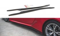 Maxton Design Prahové lišty Lexus LC 500 - texturovaný plast
