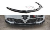 Maxton Design Spoiler předního nárazníku Alfa Romeo Giulietta Facelift V.1 - texturovaný plast