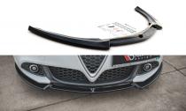 Maxton Design Spoiler předního nárazníku Alfa Romeo Giulietta Facelift V.2 - texturovaný plast