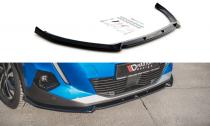 Maxton Design Spoiler předního nárazníku Peugeot 2008 Mk2 V.1 - texturovaný plast