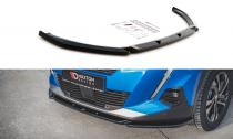 Maxton Design Spoiler předního nárazníku Peugeot 2008 Mk2 V.2 - texturovaný plast