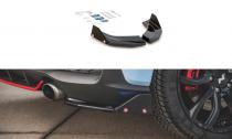 Maxton Design Boční lišty zadního nárazníku Hyundai I30N Mk3 V.6 - texturovaný plast
