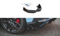 Maxton Design Boční lišty zadního nárazníku Hyundai I30N Mk3 V.7 - texturovaný plast