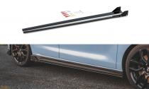 Maxton Design Prahové lišty Hyundai I30N V.5 - texturovaný plast
