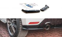 Maxton Design Boční lišty zadního nárazníku Toyota GR Yaris Mk4 V.1 - texturovaný plast