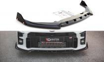 Maxton Design Spoiler předního nárazníku Toyota GR Yaris Mk4 V.2 - texturovaný plast