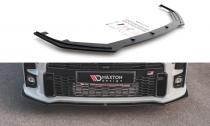 Maxton Design Zesílený spoiler předního nárazníku Racing Toyota GR Yaris Mk4 - černá