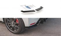 Maxton Design Zesílené boční lišty zadního nárazníku Racing Toyota GR Yaris Mk4 - černá