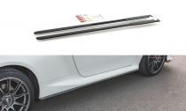 Maxton Design Zesílené prahové lišty Racing Toyota GR Yaris Mk4 - černá