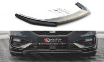 Maxton Design Spoiler předního nárazníku Seat Leon FR Mk4 V.4 - texturovaný plast