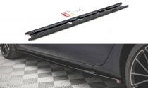 Maxton Design Prahové lišty Seat Leon FR Mk4 V.1 - texturovaný plast
