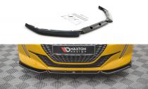 Maxton Design Spoiler předního nárazníku Peugeot 208 Mk2 V.1 - texturovaný plast