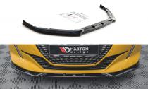 Maxton Design Spoiler předního nárazníku Peugeot 208 Mk2 V.2 - texturovaný plast