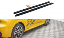 Maxton Design Prahové lišty Peugeot 208 Mk2 - texturovaný plast