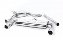 Catback výfuk VW Golf 7 GTI & Performance Clubsport 2,0 TSI Milltek Sport - s rezonátorem / leštěné koncovky