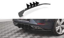 Maxton Design Zadní difuzor Street Pro Seat Leon FR Hatchback Mk4 - černá
