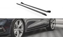 Maxton Design Prahové lišty Street Pro s křidélky Seat Leon FR Mk4 - černá