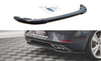 Maxton Design Spoiler zadního nárazníku Seat Leon FR Hatchback Mk4 - texturovaný plast