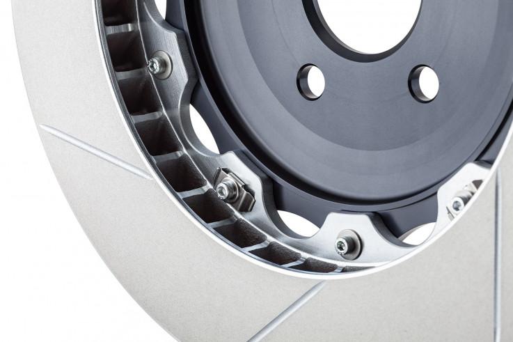 Girodisc Přední sportovní brzdové kotouče 380x34mm Porsche 911 (997) Turbo / Turbo S