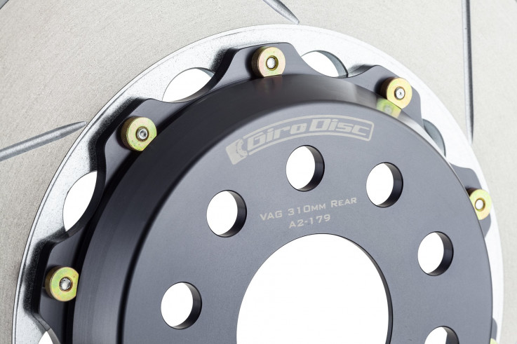 Girodisc Přední sportovní brzdové kotouče 322x32mm Porsche 911 (993)