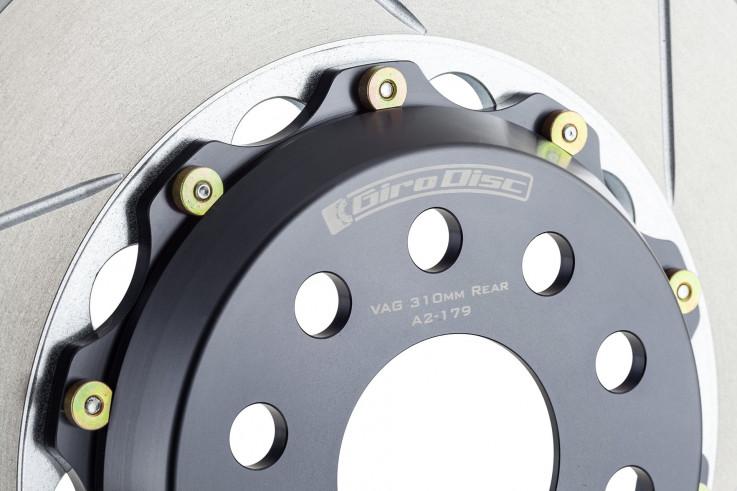 Girodisc Zadní sportovní brzdové kotouče 380x32mm Porsche 911 (991) Turbo / Turbo S