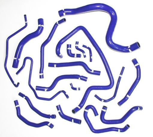 Silikonové hadice chladícího okruhu SEAT Ibiza 1,2 TSI FMKCIB12 Forge Motorsport - Modré