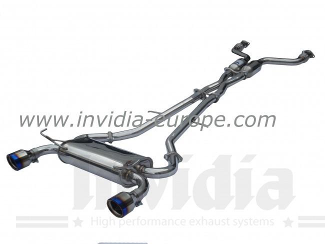 Catback výfuk Invidia Q300tl pro Nissan 370Z