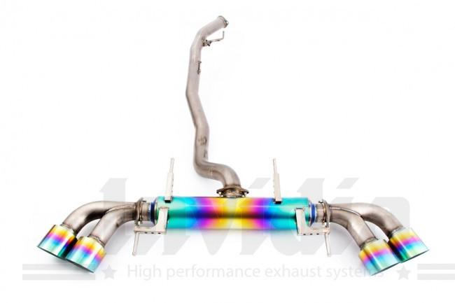 Catback výfuk Invidia Premium Ti pro Nissan GT-R R35