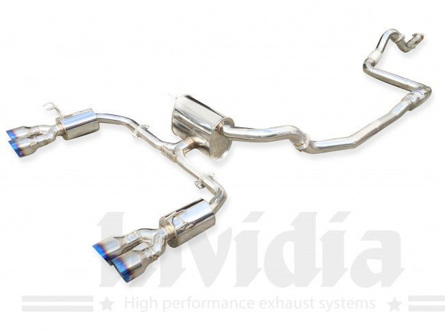 Catback výfuk Invidia Q300 pro Honda Civic FK2 Type R