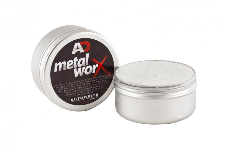 Autobrite Metalworx leštěnka na kov a hliník 100g