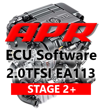 APR Stage 2+ úprava řídící jednotky chiptuning VW Golf 5 GTI Edition 30 ED30 2,0 TFSI K04 - s APR Cast Downpipe