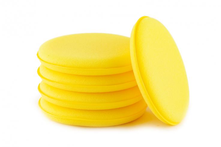 Autobrite žlutý pěnový aplikátor